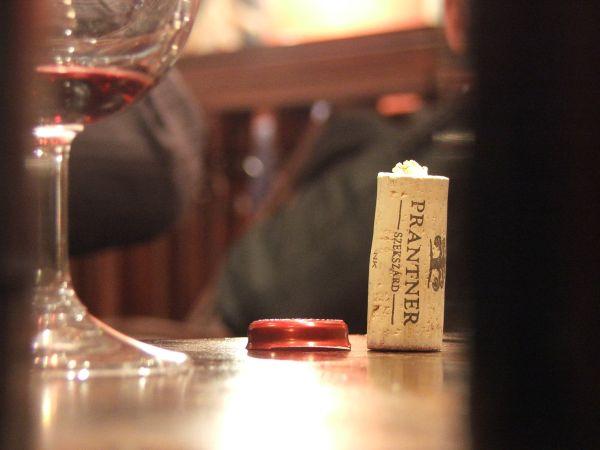 Prantner a Winebarban