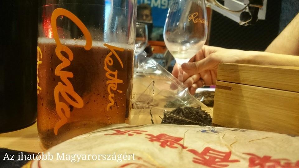 bor és tea