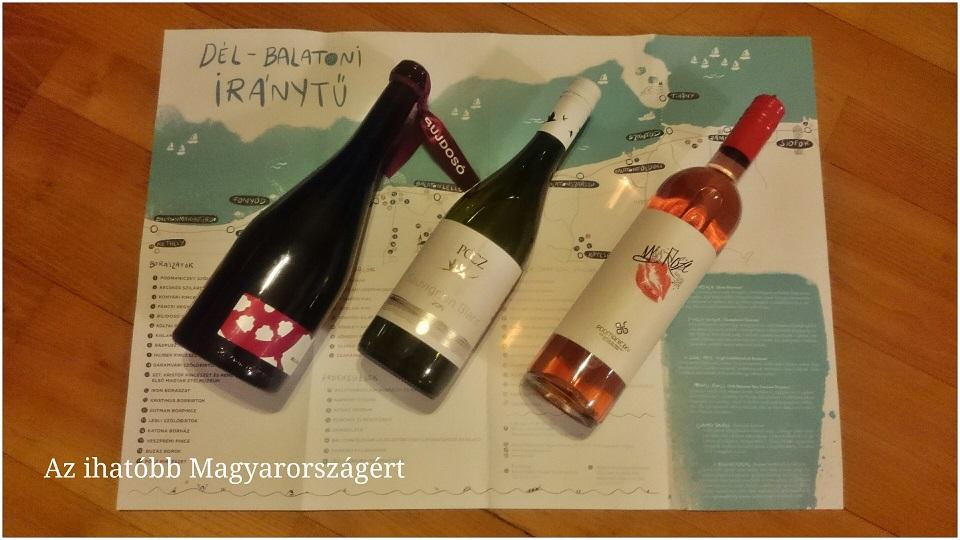 Térkép és borok...