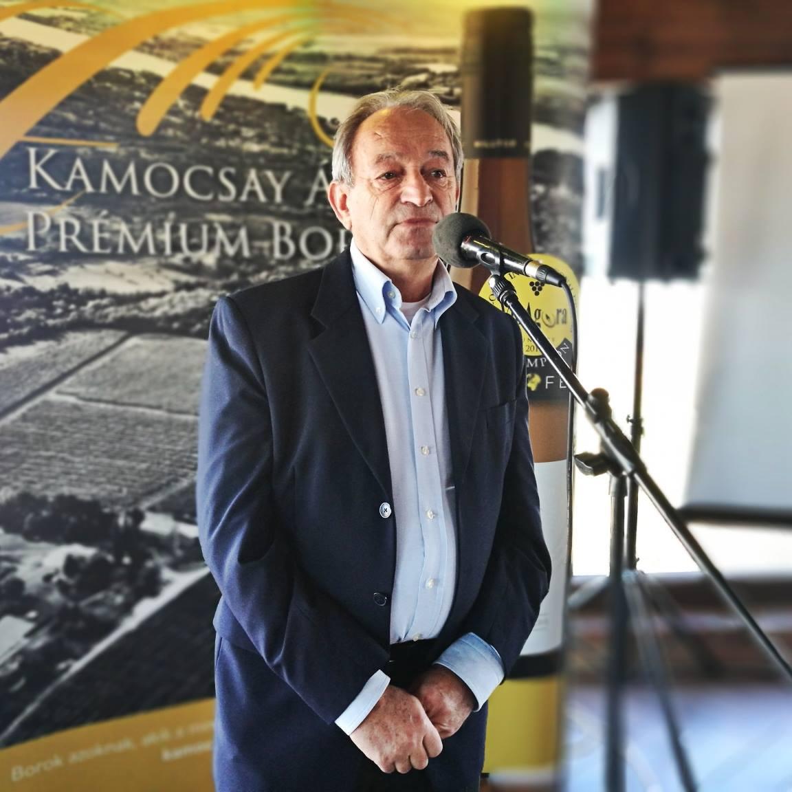 Kamocsay Ákos borász