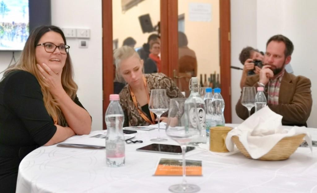 Mitől érdekes a magyar bor? -előadás közben