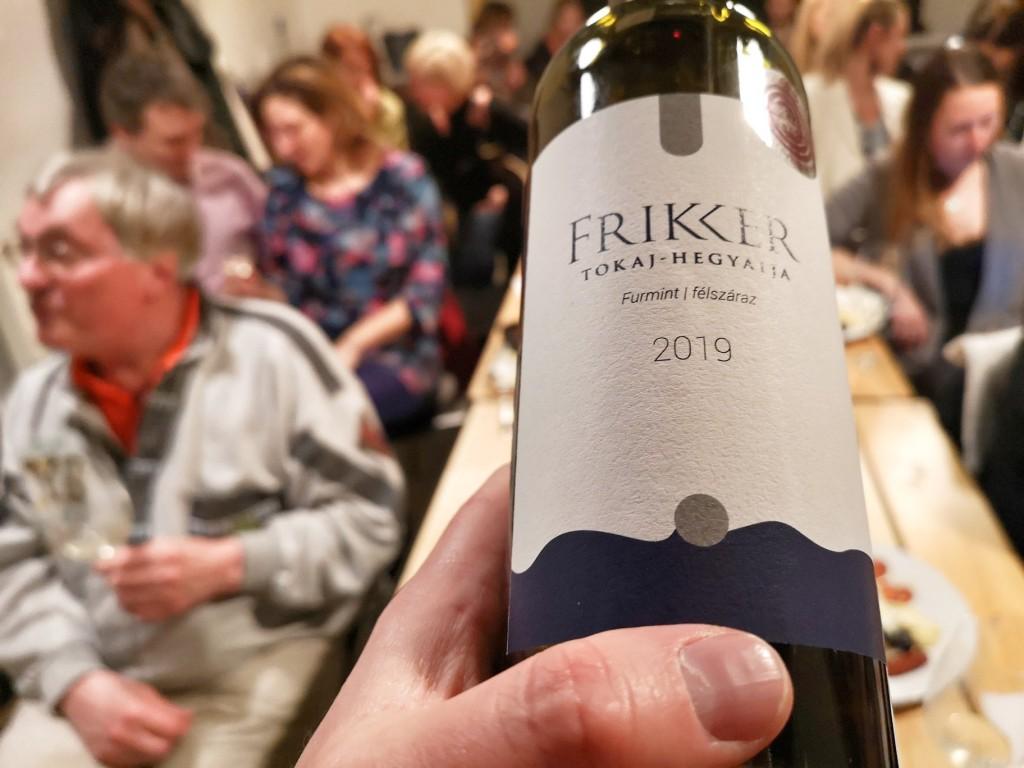 FRIKKER FURMINT FÉLSZÁRAZ 2019