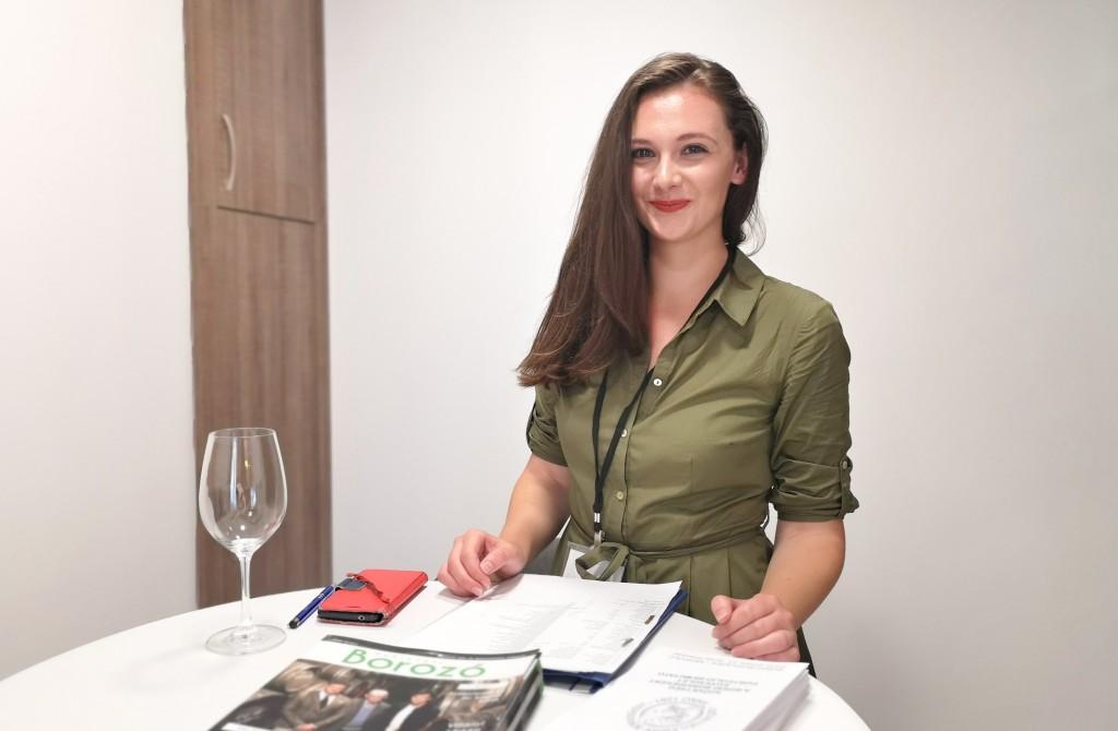 Viszlai Erzsébet, a Szövetség a Bükki Borvidékért tagja - Zöldmunkákat fog oktatni