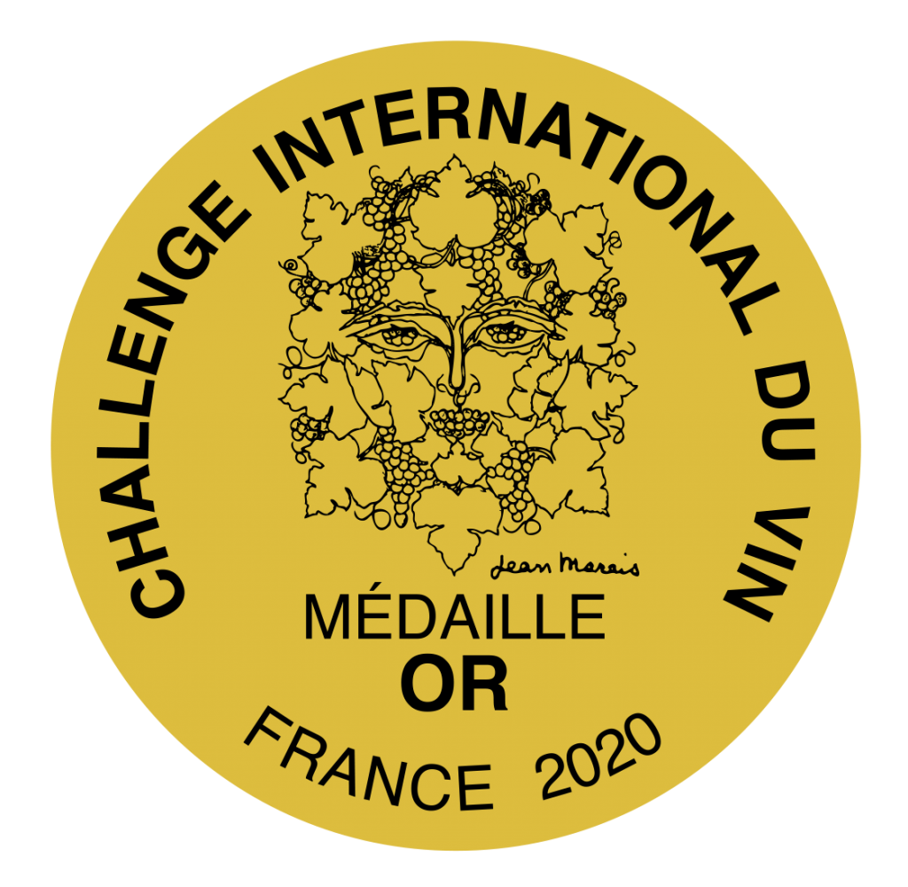 Challenge International du Vin 2020 gold medal