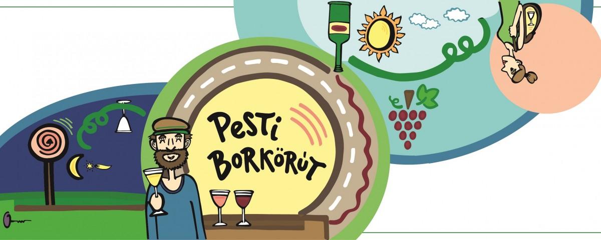 Pesti Borkorut cover 03-szines-kerettel