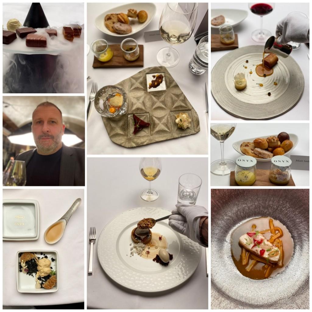 Az utolsó vacsora a Világevő által kikockázva (facebook)
