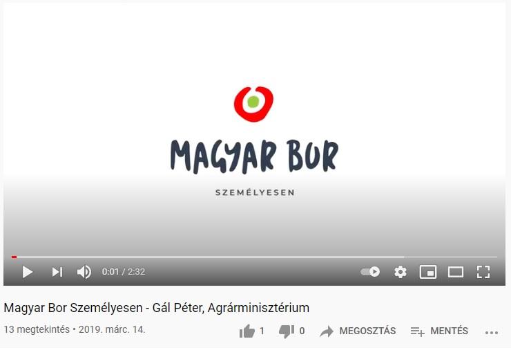 Magyar Bor Személyesen